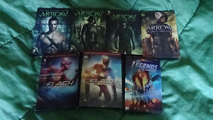 DC Tv Shows for sale!!!! ARROW, FLASH, LEGENDS OF TOMORROW