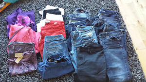 Guess, American eagle, Mavi, under Armour ladies