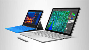 Looking to buy brand new Microsoft Surface Pro's and Books