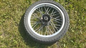 84 Virago wheels