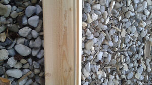 """16 ft by 6"""" cedar tongue and groove plank - 4 pieces"""