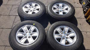 "!! CHEV TRUCK / SUV FACTORY 17""RIMS & TIRES $1250.00 !!"
