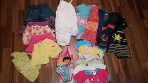 Lot vêtements pour filles 18 mois