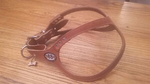 Leather Buddy Belt dog harness