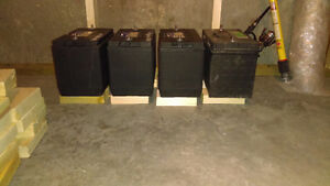 4 good batteries for sale