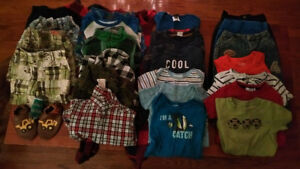 Box of 18-24 month boy clothes