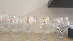 1988 Olympic Wine Glasses - complete sets