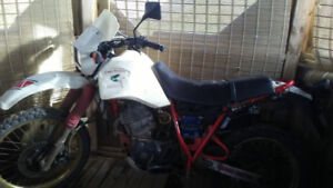 1986 yamaha xt 600