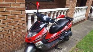 Kymco Ego250 and accessories - Low Kms - Great condition... Burwood Burwood Area Preview