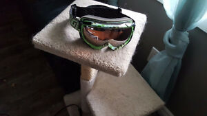 Gordini Green Checkered Junior Goggles