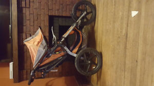 Bob Jogging Stroller - Single seat with carseat adaptor.