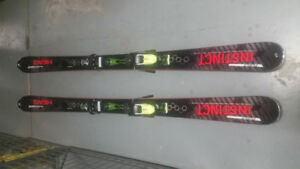 177 Head Power Instinct Ti Pro Skis with Tyrolia PRX 12 Bindings