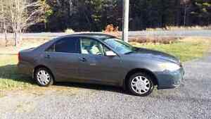 2002  Toyota camry 4 cylinder automatic transmission