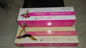YOGA KIT AND AEROBICE STEP FOR SALE