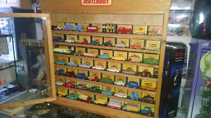 Matchbox collection with display MiB 1953 -63
