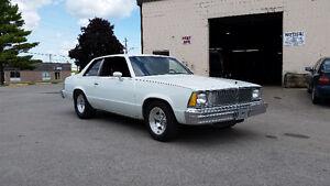 1980 Malibu 2 door 4 speed