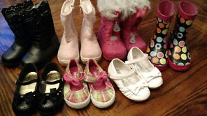 Shoes and boots all girls size 5