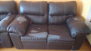 Very comfy sofa and love seat for sale $50