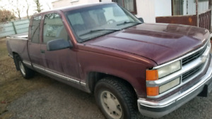 1998 chev pick up truck