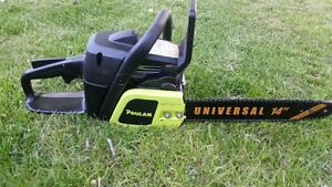 """Poulan 14"""" chainsaw, new condition"""