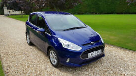 2014 (14) Ford B-Max 1.5TDCi ( 75ps ) Zetec ONLY 13,000 MILES IMMACULATE COND