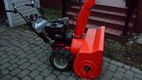 souffleuse Ariens (12 hp / 36) starter élect + lumière + chaines