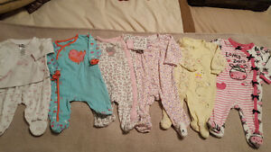 60+items girls size 0-6 months