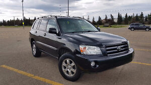 2007 AWD Toyota Highlander Sport SUV - Low Kilometers