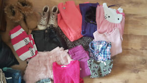 Back to school wardrobe for girl size 5