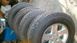 tires services- 80$ winter swap overs Prince George British Columbia image 1