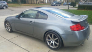 2004 infiniti g35 6 speed manual coupe with brembo breaks