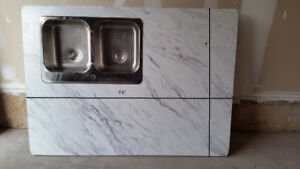 Kitchen countertop and sink for sale ( new)