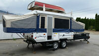 Amazing Toy Hauler Tent Trailer!!