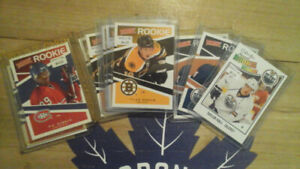 2010-11 & 2011-12 Hockey Rookie Cards (UD,  OPC, Victory, Score)