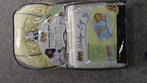 Jolly jumper nursing pillow and pregnancy wedge