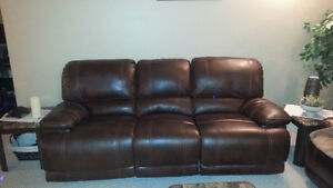 Leather reclining Couches Windsor Region Ontario image 1