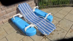 chaise de piscine, pompes de piscine et autre