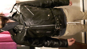 Biker jacket (leather)