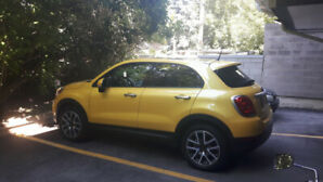2016 Fiat 500X suv with AWD - low km