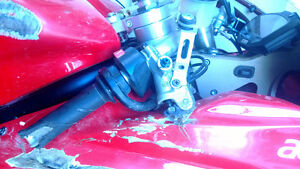 WANTED DUCATI 848/1098/1198 clip ons and rear brake lever