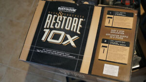 Rust-oleum Restore 10X for Deck and Concrete