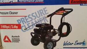 scorpion petrol pressure washer new in box pickup lysterfield vic Ferntree Gully Knox Area Preview