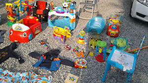 Toys and baby accessories