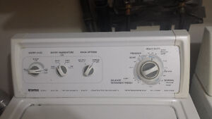 Washer dryer, freezer and coffee maker