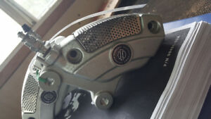 Cvo brembo calipers and matching rotors