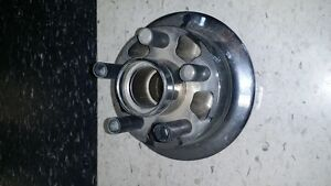 chromed original yamaha roadstar rear pulley hub
