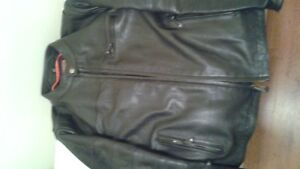 men's First Classic leather motorcycle jacket xl