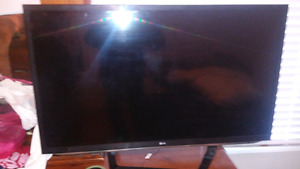 47inch lg 1080p hd  tv 400obo pick up only