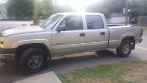 2005 Chevrolet Silverado 1500 HD with 2500 series package