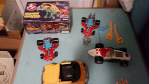 VINTAGE KENNER GHOSTBUSTERS TOYS